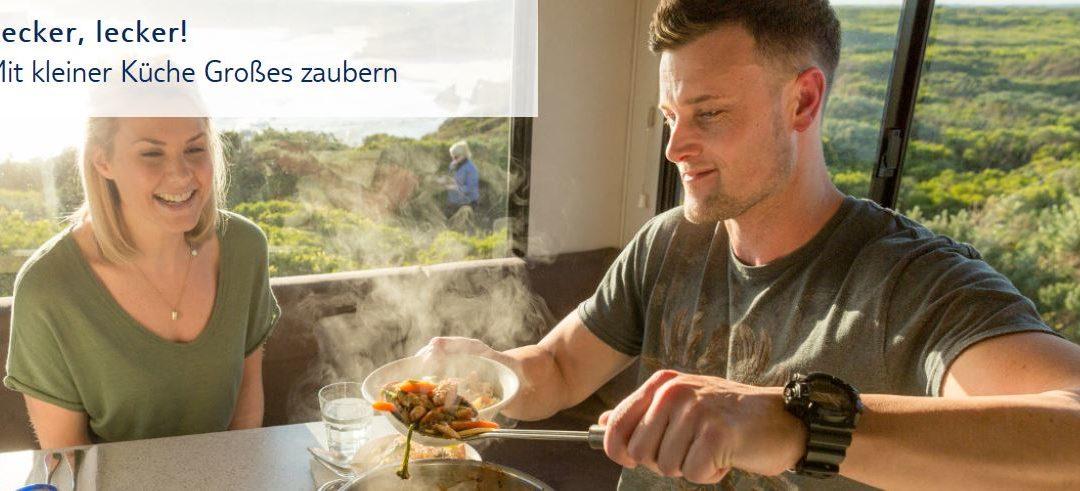 Kochen im Wohnmobil: Tipps und Tricks für Ihre Camper-Küche