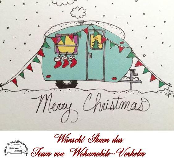 ein schönes Weihnachtsfest und einen guten Rutsch